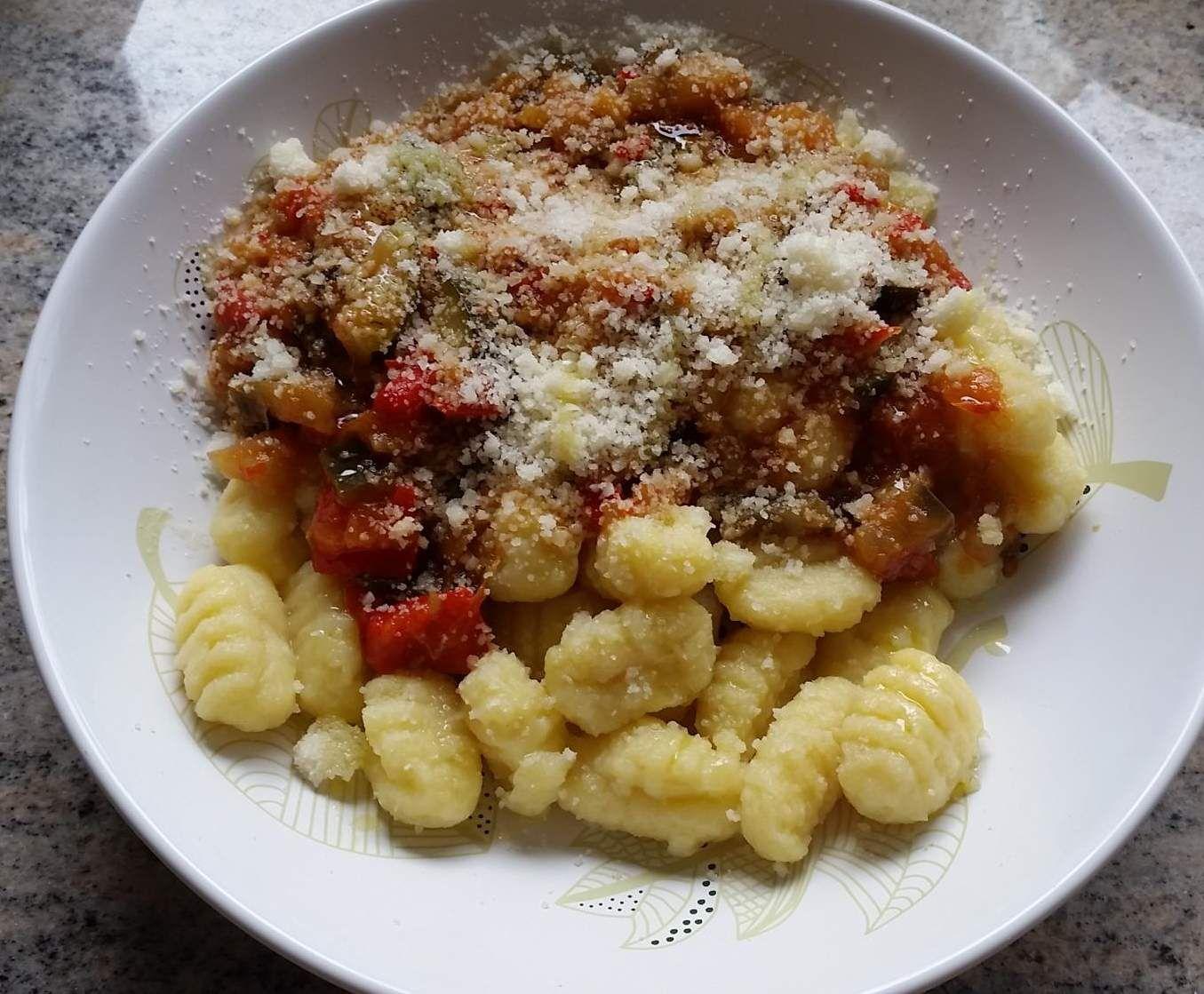 Rezept Gnocchi mit Gemüse von Italienstyle - Rezept der Kategorie Hauptgerichte mit Gemüse