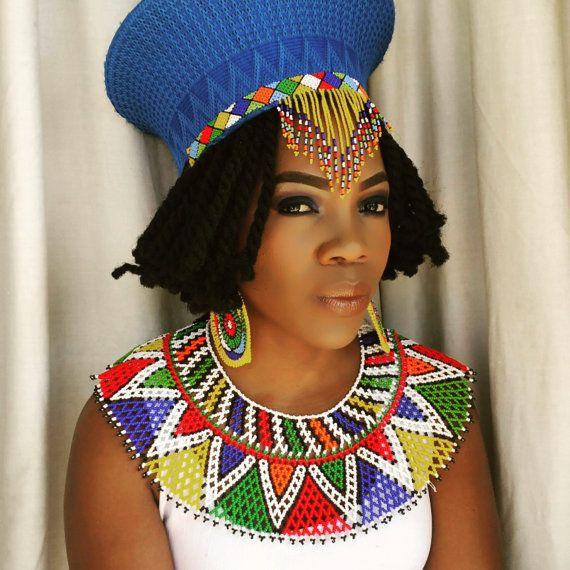 cd8586ea19a47 Zulu traditional wedding attire (hat