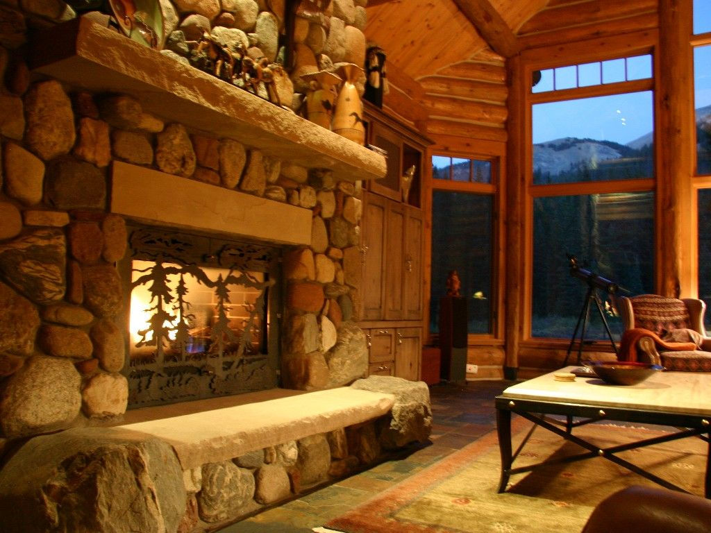 Breckenridge House Rental: Ski Lynx Lodge  Featured In Log Home Design  Magazine U002707