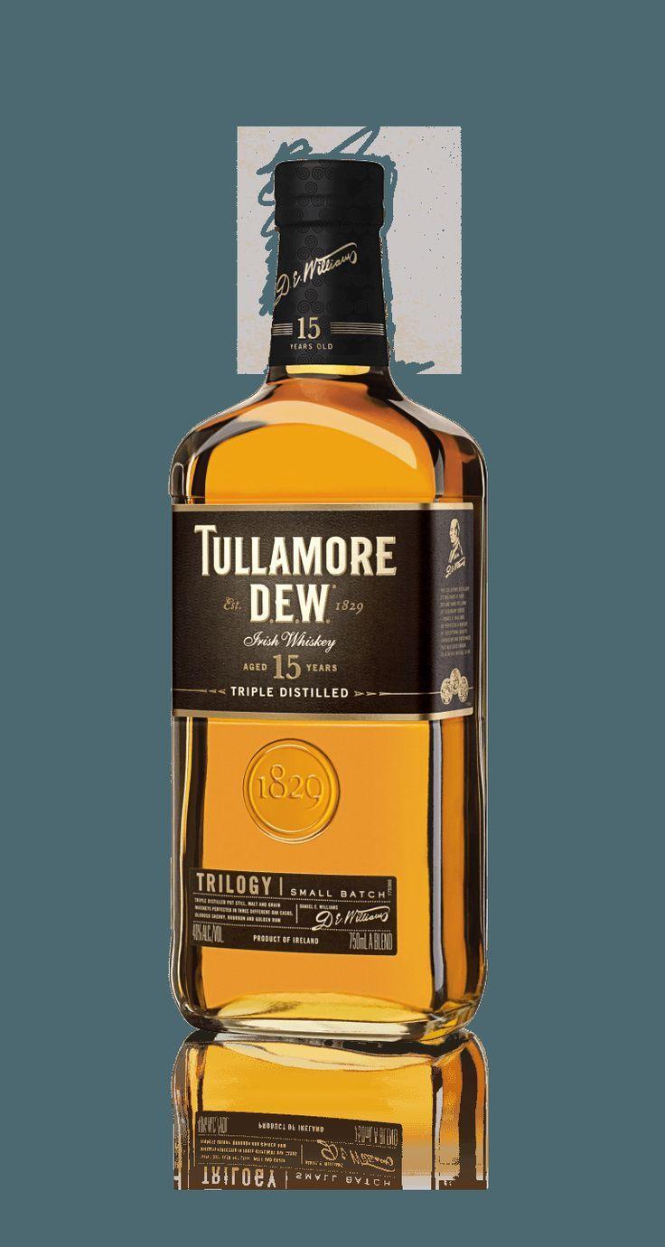 Tullamore D.E.W. Trilogy 15 Years Old Irish Whiskey #irishwhiskey