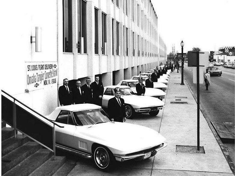 Omaha Tangier Corvette Patrol, St Louis Plant Delivery, 11