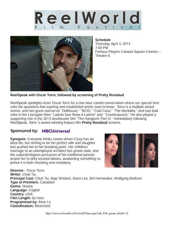 PRETTY ROSEBUD Oscar Torre Director | PRETTY ROSEBUD Oscar Torre