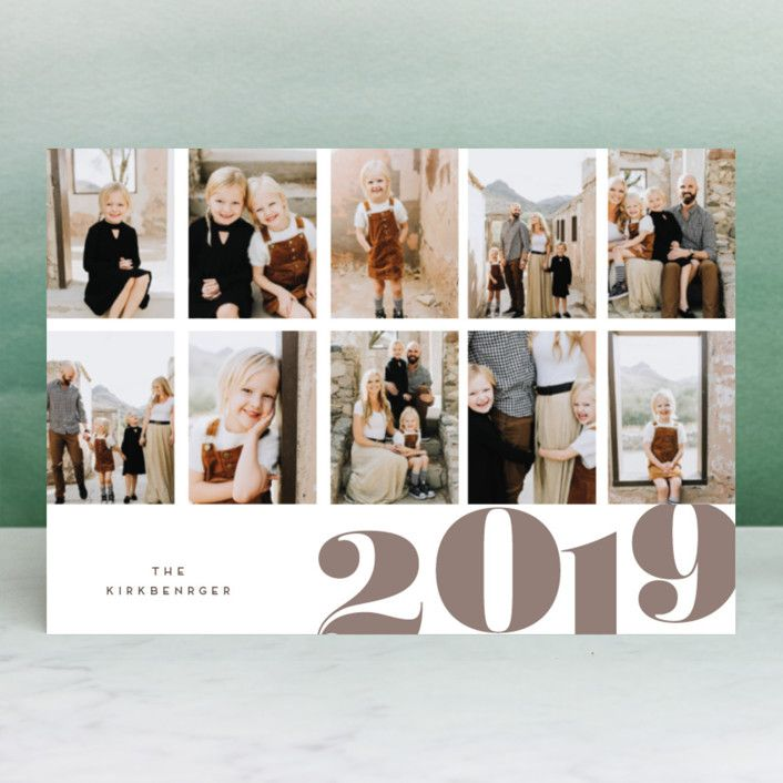 """Photo of """"millecrepe"""" – Customizable Holiday Postcards in Gray by chocomocacino."""