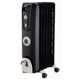 Delonghi 5118-Btu Oil-Filled Radiant Tower Electric Space Heater With