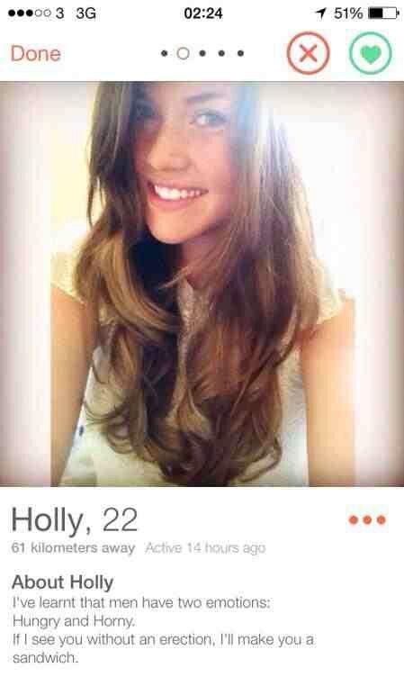 Lustige Dating-Profil bios