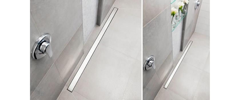 Beautiful Shower Trench Drain  Concept