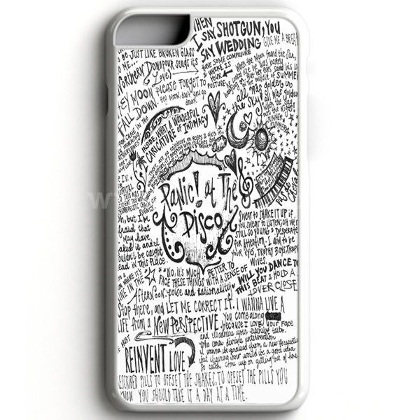 Panic! At The Disco Lyric 3 Cover iPhone 7 Case | aneend ...