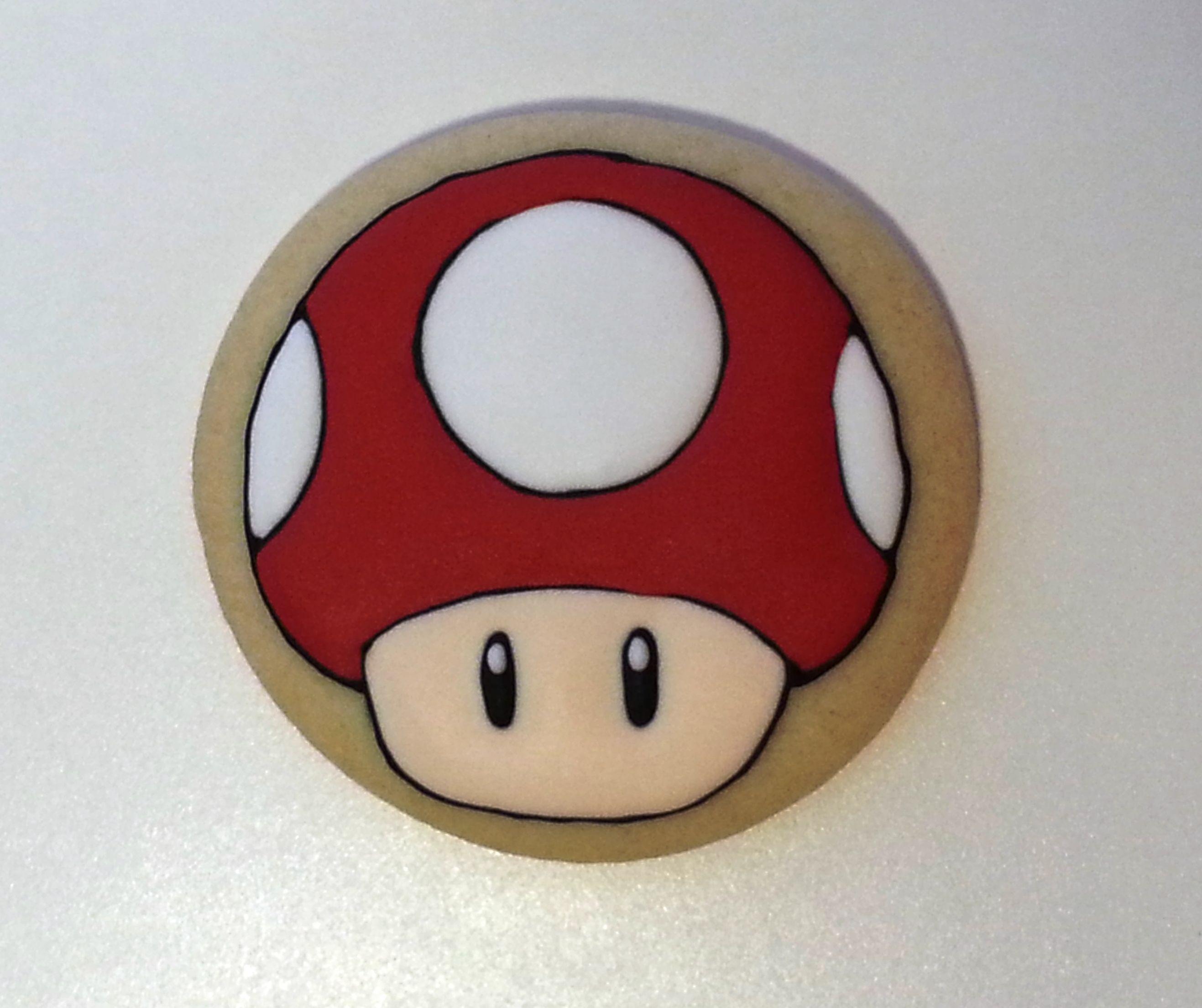 Super Mario Mushroom cookie Einfache sachen zum zeichnen