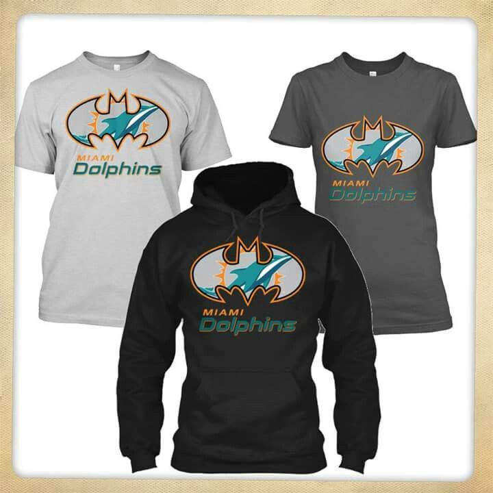 miami dolphins batman shirt