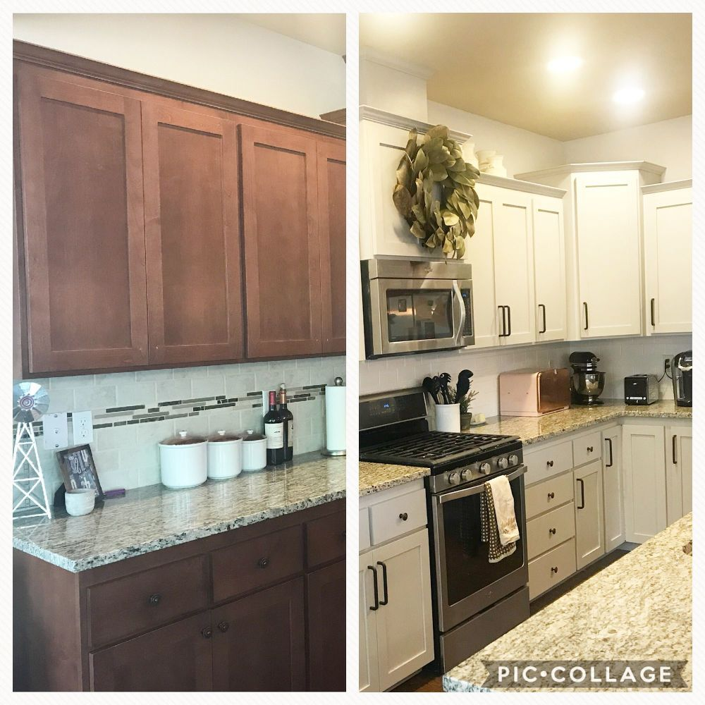 How To Paint A Diy Budget Friendly Kitchen Refresh Kitchen Refresh Kitchen Cupboards Paint Kitchen Refresh Diy