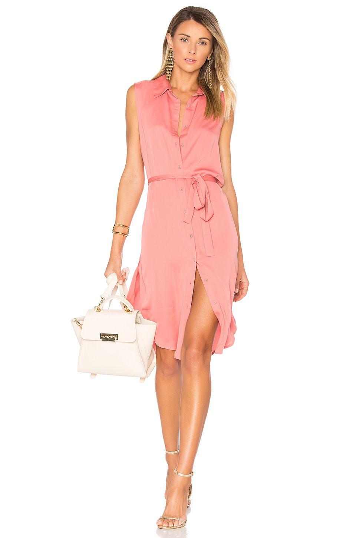 2b1305dfc461 L'Academie The Sleeveless Midi Dress in English Rose | REVOLVE ...