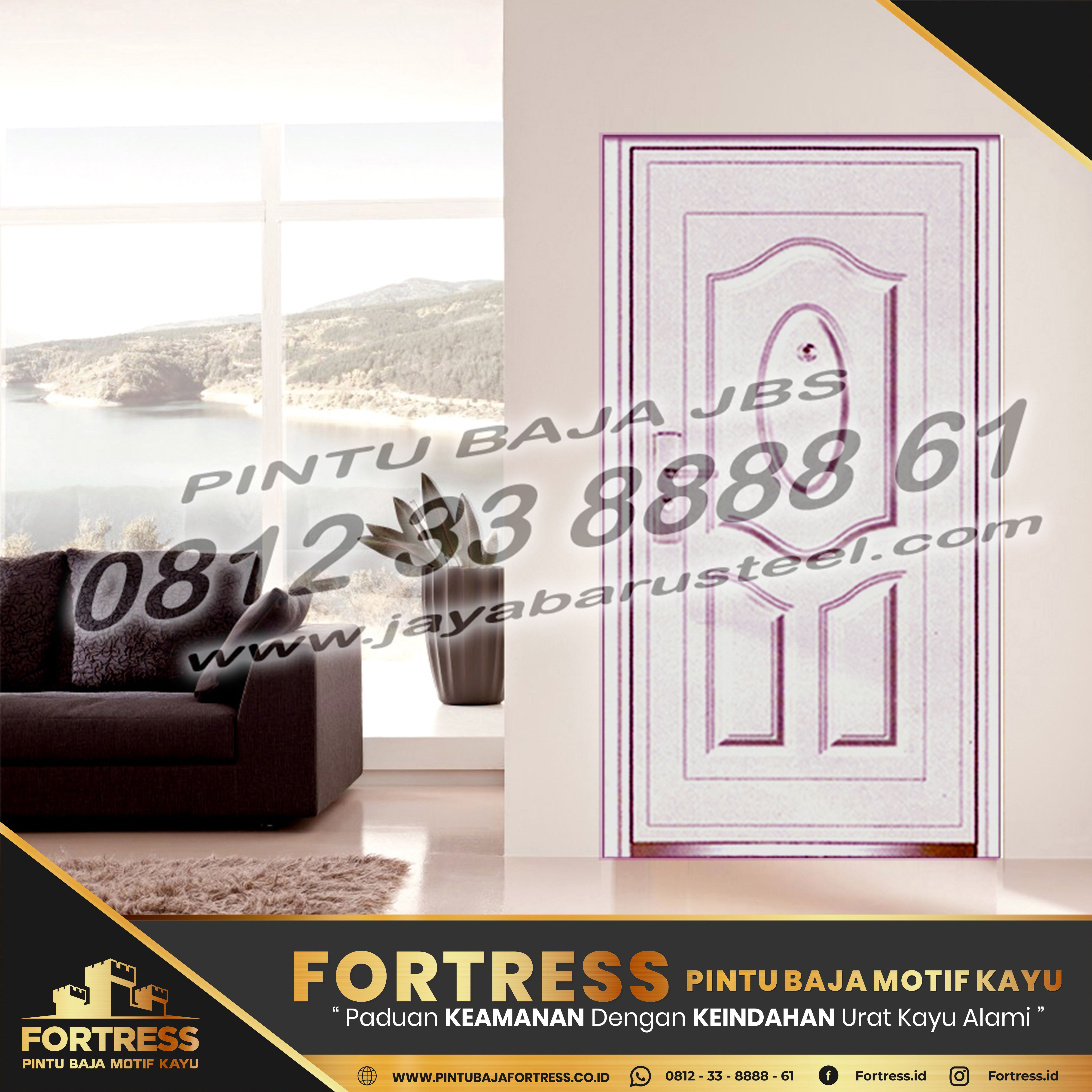 0812-91-6261-07 (FORTRESS) Lack of Steel Doors in Samarinda, …