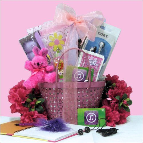 Cool chick easter gift basket tween girls ages ages 10 to 13 cool chick easter gift basket tween girls ages ages 10 to 13 years old 4499 negle