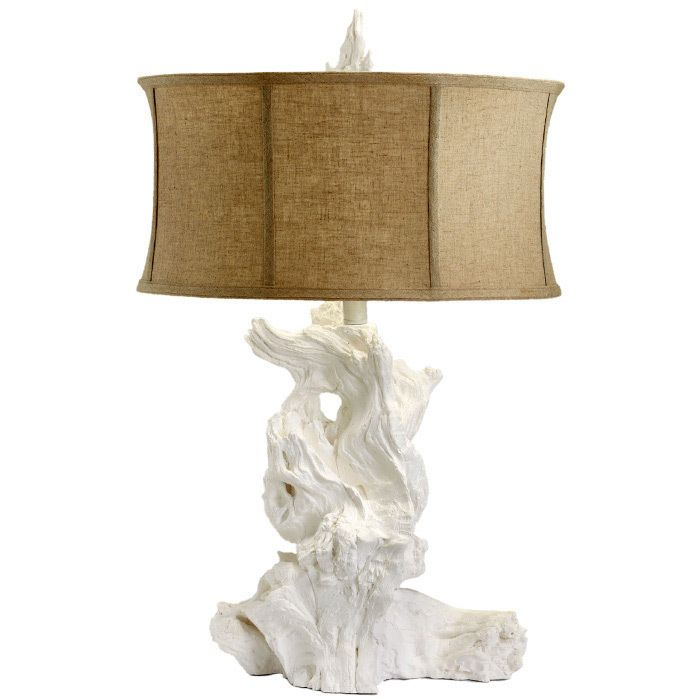 bright and modern driftwood desk. The Driftwood table lamp modernizes a beach motif with subtle glamour  This white fixture adorns desks and bedside surfaces textured bravado Nauset Table Lamp Other rooms Pinterest Mom Love Lamps