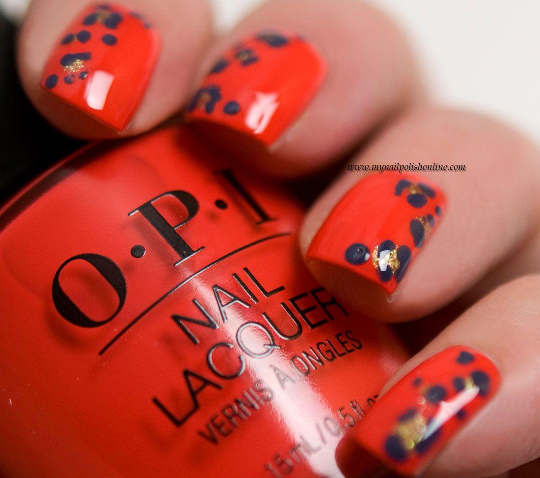 Animal print on nails - http://www.mynailpolishonline.com/2018/02 ...