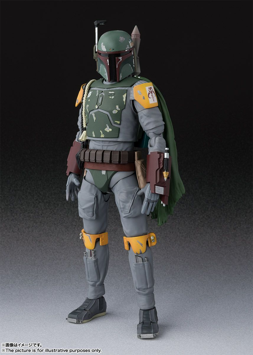 Star Wars: Return of the Jedi - Boba Fett S.H. Figuarts Photos and Info - The Toyark - News