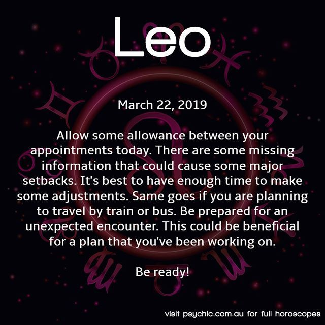 leo astrology march 17