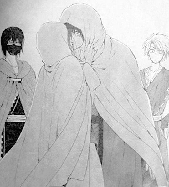 Akatsuki No Yona Manga Chapter 137 Yona Kisses Hak Akatsuki No