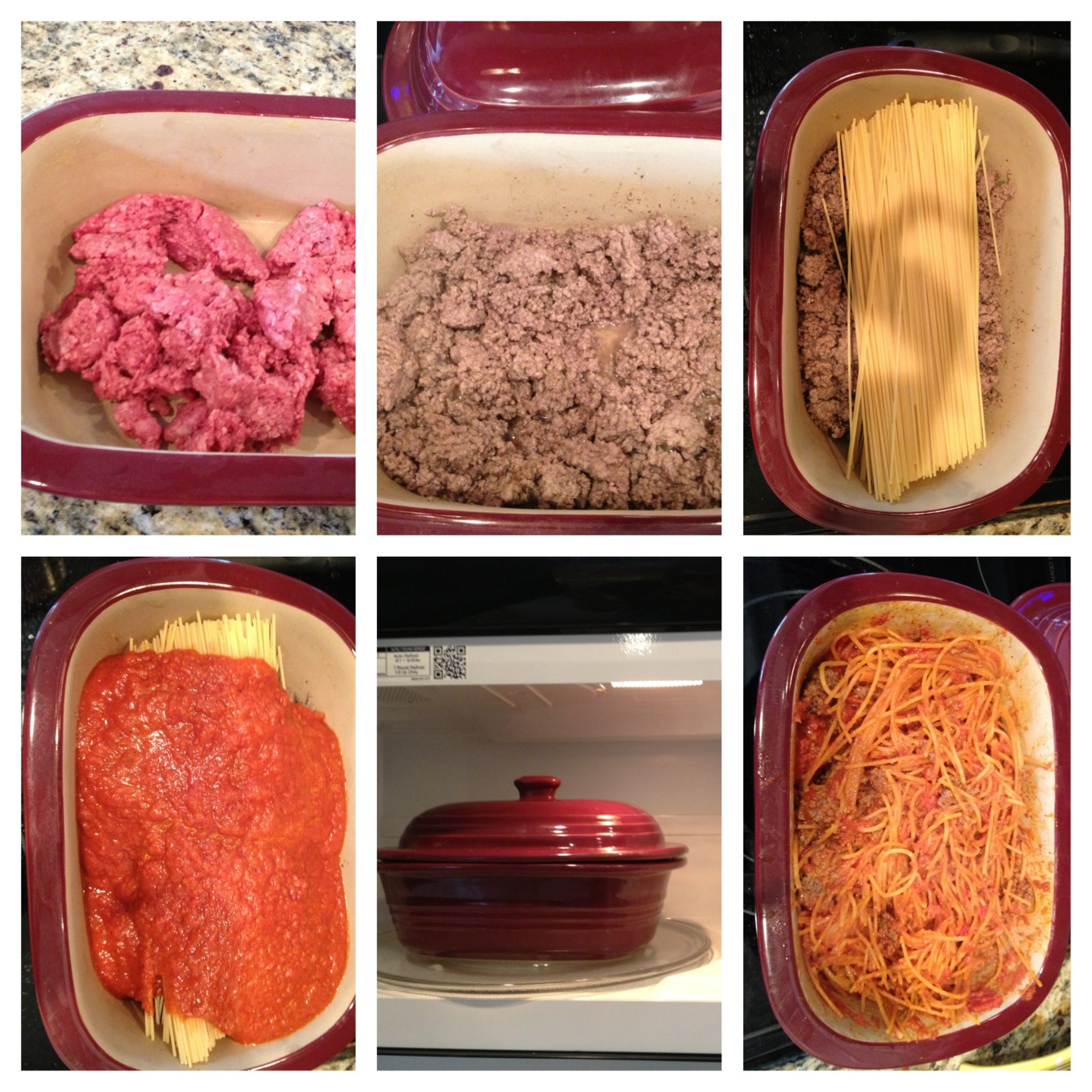 1 Dish Spaghetti Pampered Chef Recipes Pampered Chef Stoneware Chef Dishes