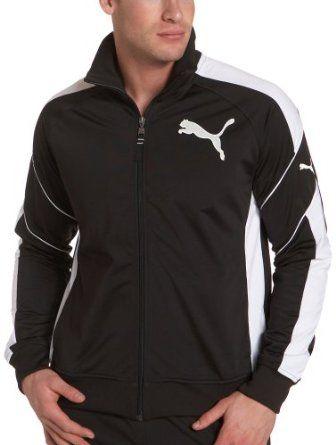 1261e8498a44 Puma Men s Tricot Track Jacket   favoritos   Pinterest   Спортивная ...