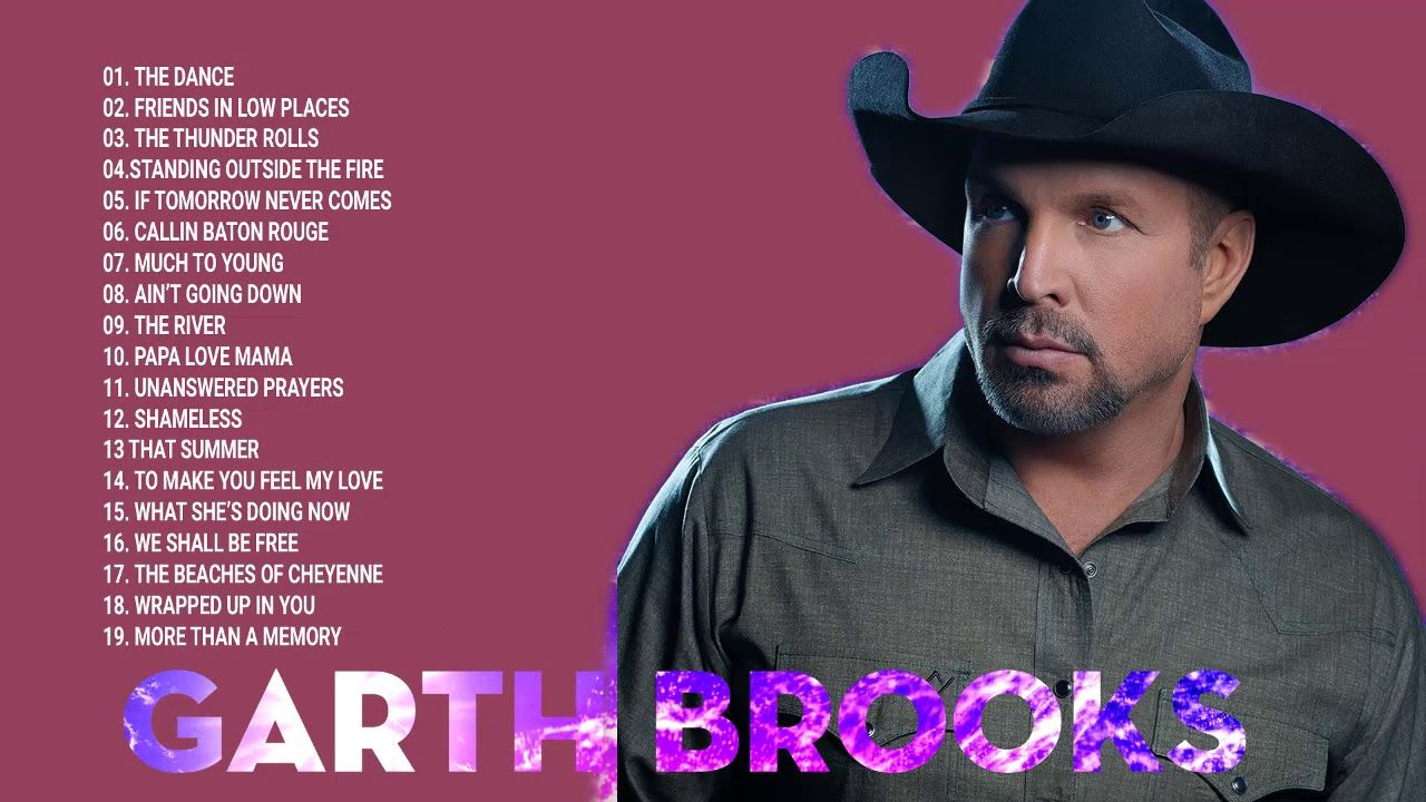 Garth Brooks Greatest Hits Full Album Best Of Garth Brooks Playlist 2018 Garth Brooks Country Music Lyrics Album Songs