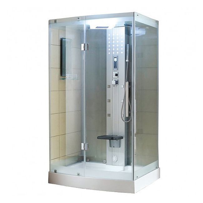 Exceptional Turn Your Bathroom Into A Luxury Spa Experience With This Steam Shower.  Featuring Six Jets