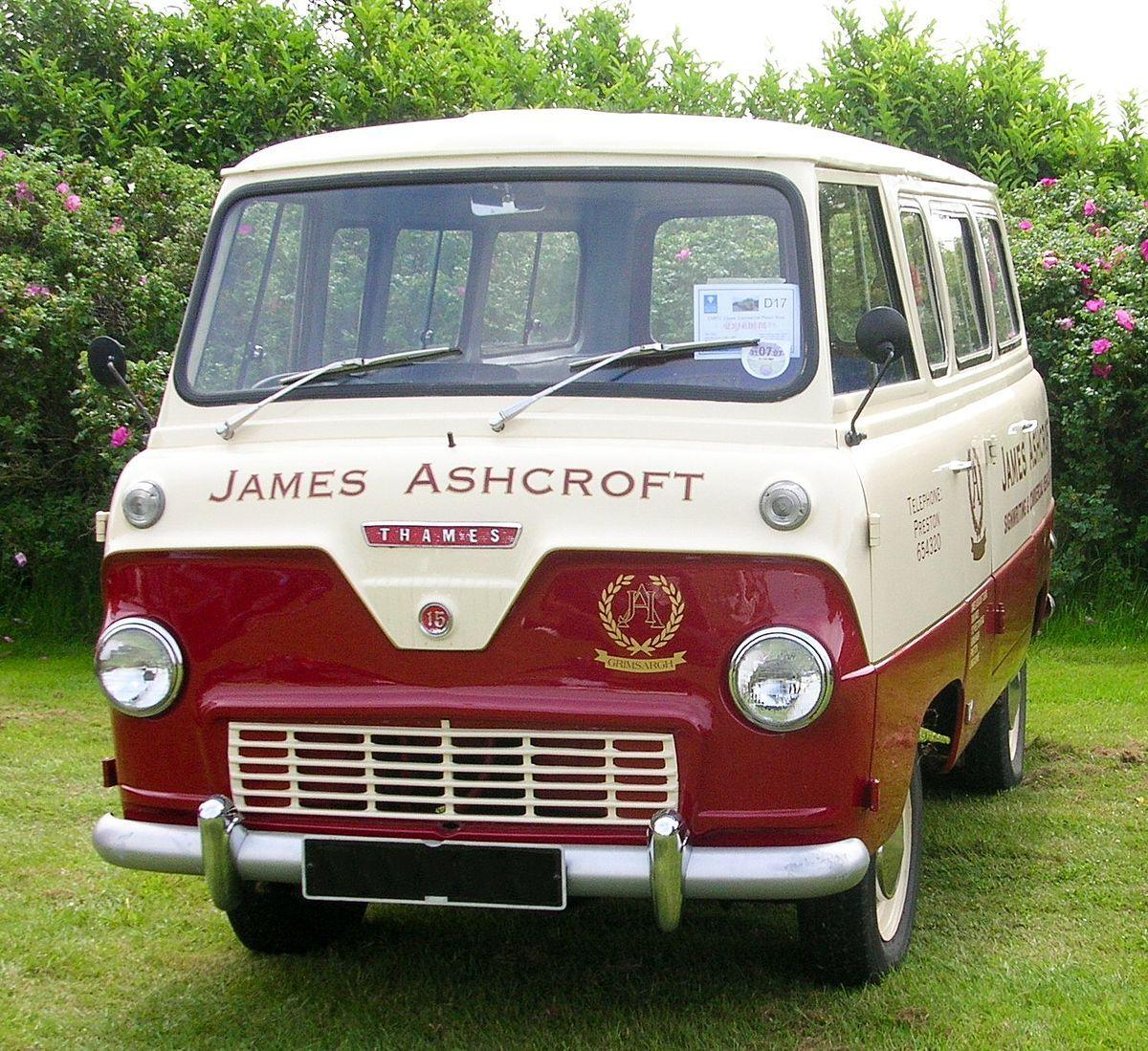 1200px Ford Thames 400e Minibus 1964 Jpg 1200 1099 Med Bilder