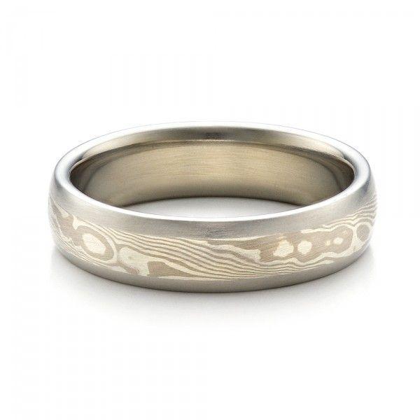 Men S Mokume Wedding Band 1463 Seattle Bellevue Joseph Jewelry Mens Wedding Bands Mens Wedding Rings Wedding Rings