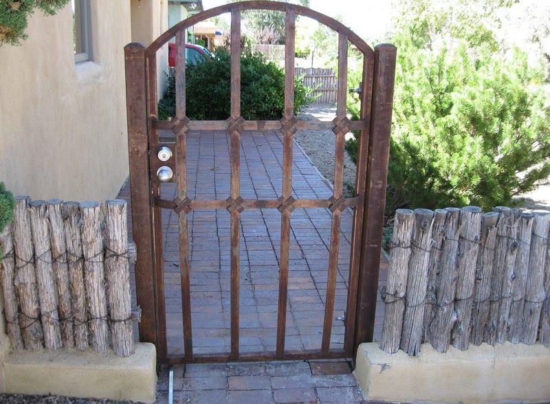 Albuquerque Wrought Iron Gates Photo Gallery Marquez Iron Works Wrought Iron Gates Wrought Iron Design Iron Gates