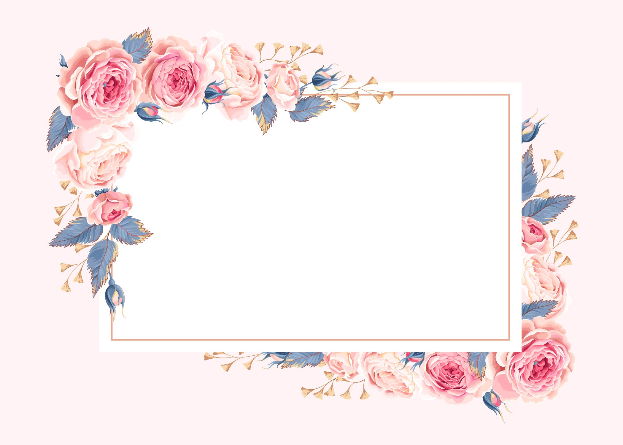 Climbing Roses RSVP card Template (Free) Greetings
