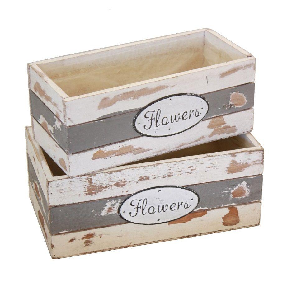 Caja De Madera Blancas Cajas De Madera Originales Para