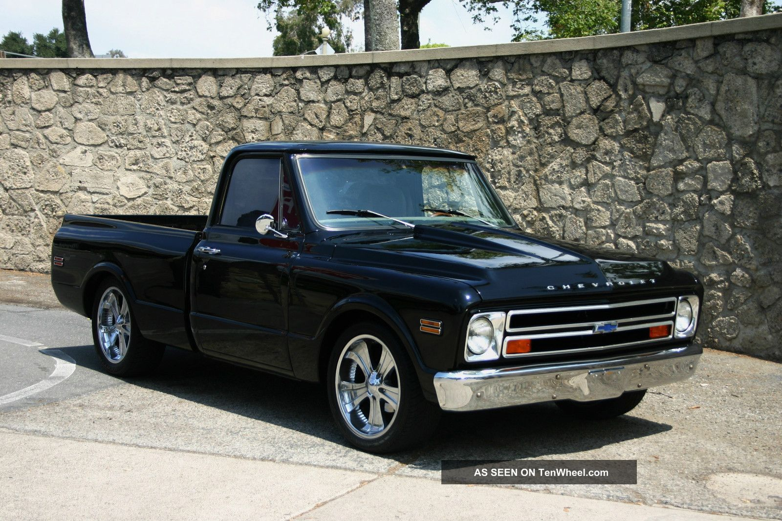 Truck c 10 chevy truck : 1968 Chevy C10 Truck Short Bed (pro Touring Show Truck Restomod No ...