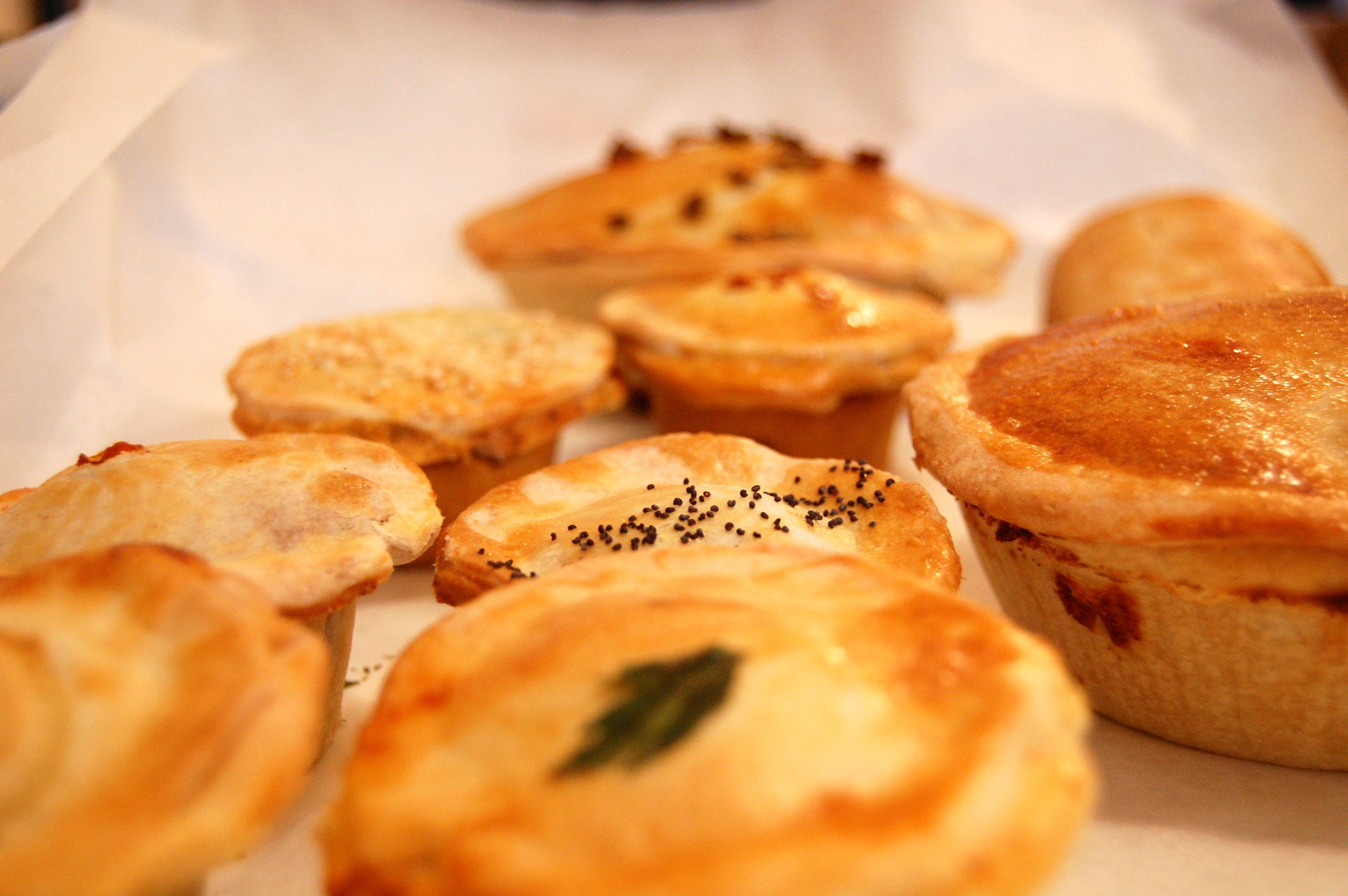 Mini Aussie Pies From Tuck Nyc Etizers Bitesize Snacks Party