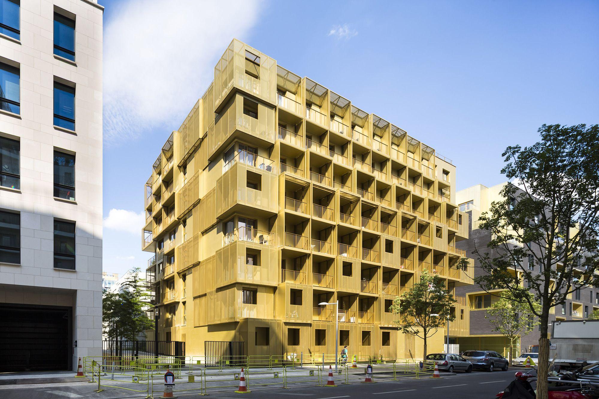 Golden Cube / Hamonic + Masson & Associés