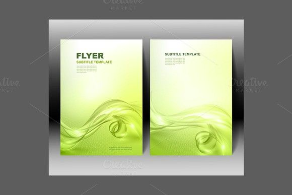 Vector Brochure Template Design Poster Templates   Poster