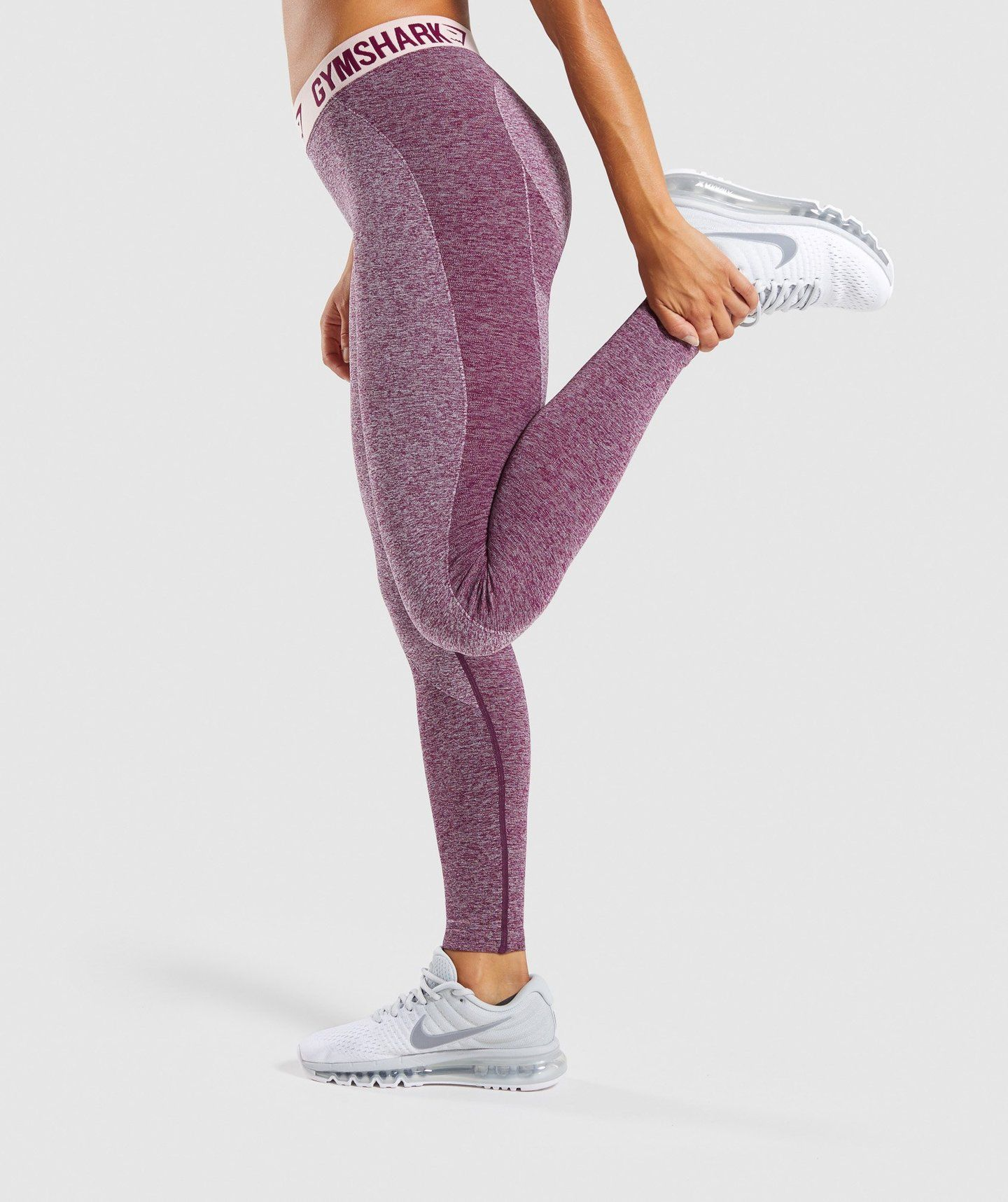 cd00c85f1e1c33 Gymshark Flex Leggings - Dark Ruby Marl/Blush Nude in 2019 ...