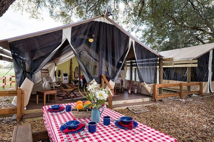 The Secluded Glampground In Florida That Takes You A