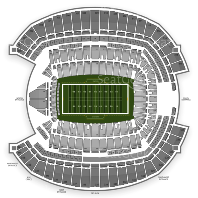 Centurylink Field Seating Chart Seattle Seahawks Steve