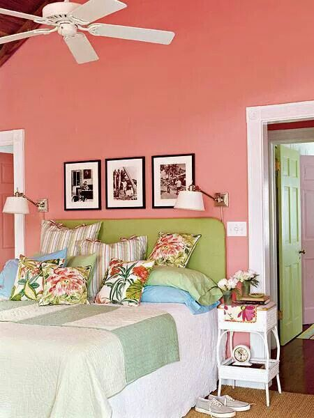 Pink And Green Bedroom Designs Classy Pink And Green  Bedrooms  Pinterest  Bedrooms Design Decoration