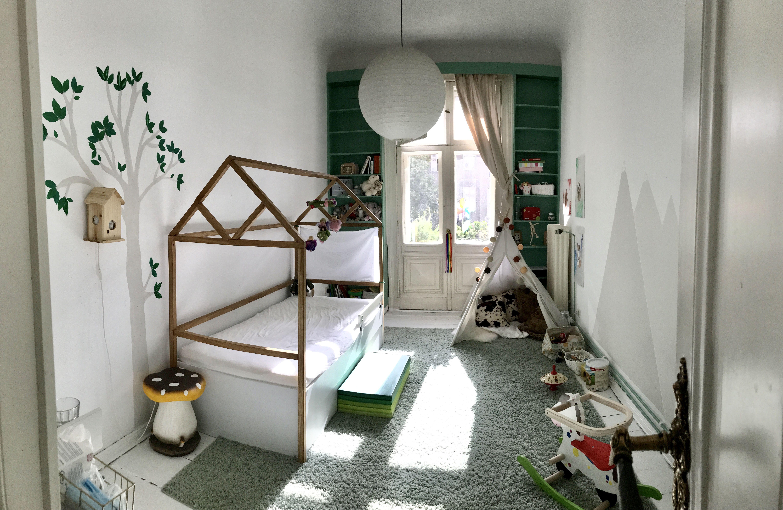 Kinderzimmer kinderzimmer waldzimmer mintgrün (avec