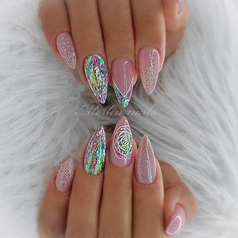 30 Cute Summer Nails Designs 2019 To Make You Look Cool And Stylish – Trending B…
