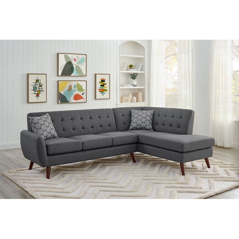 Oaklee 98 5 Right Hand Facing Sectional In 2020 Sectional Sofa Couch Living Room Design Modern Sectional