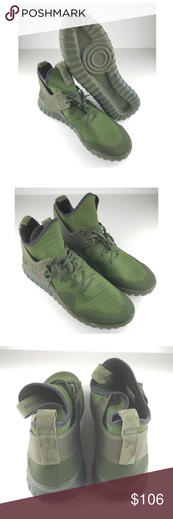Adidas Originals Tubular | X Primeknit Hombre Talla 13 NWT | Tubular My Posh a8654b