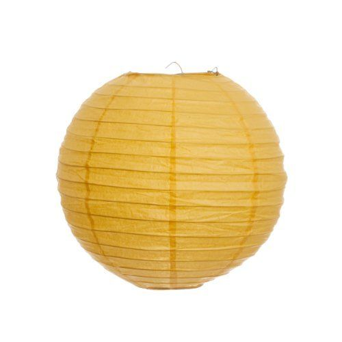 Paper Lanterns Ottawa Wholesale Weddings By Pritchard: Koyal 12-Inch Paper Lantern, Yellow, Set Of 24 By Koyal