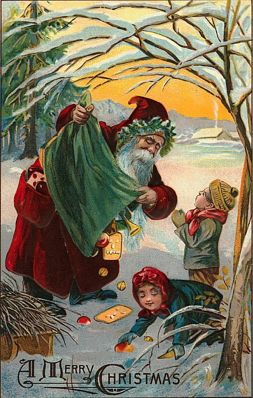Santa Claus Vintage 157 Free Desktop Wallpapers Cool Wallpapers Canvas Art Art Free Animated Wallpaper
