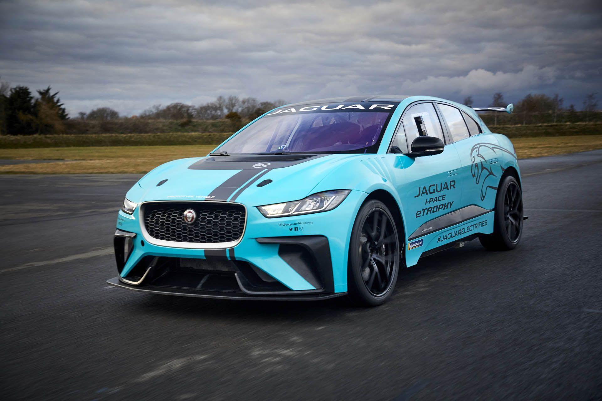 Jaguar I Pace Svr Would Focus On Handling Not Straight Line Speed Carscoops Jaguar I Pace Jaguar Jaguar Pace