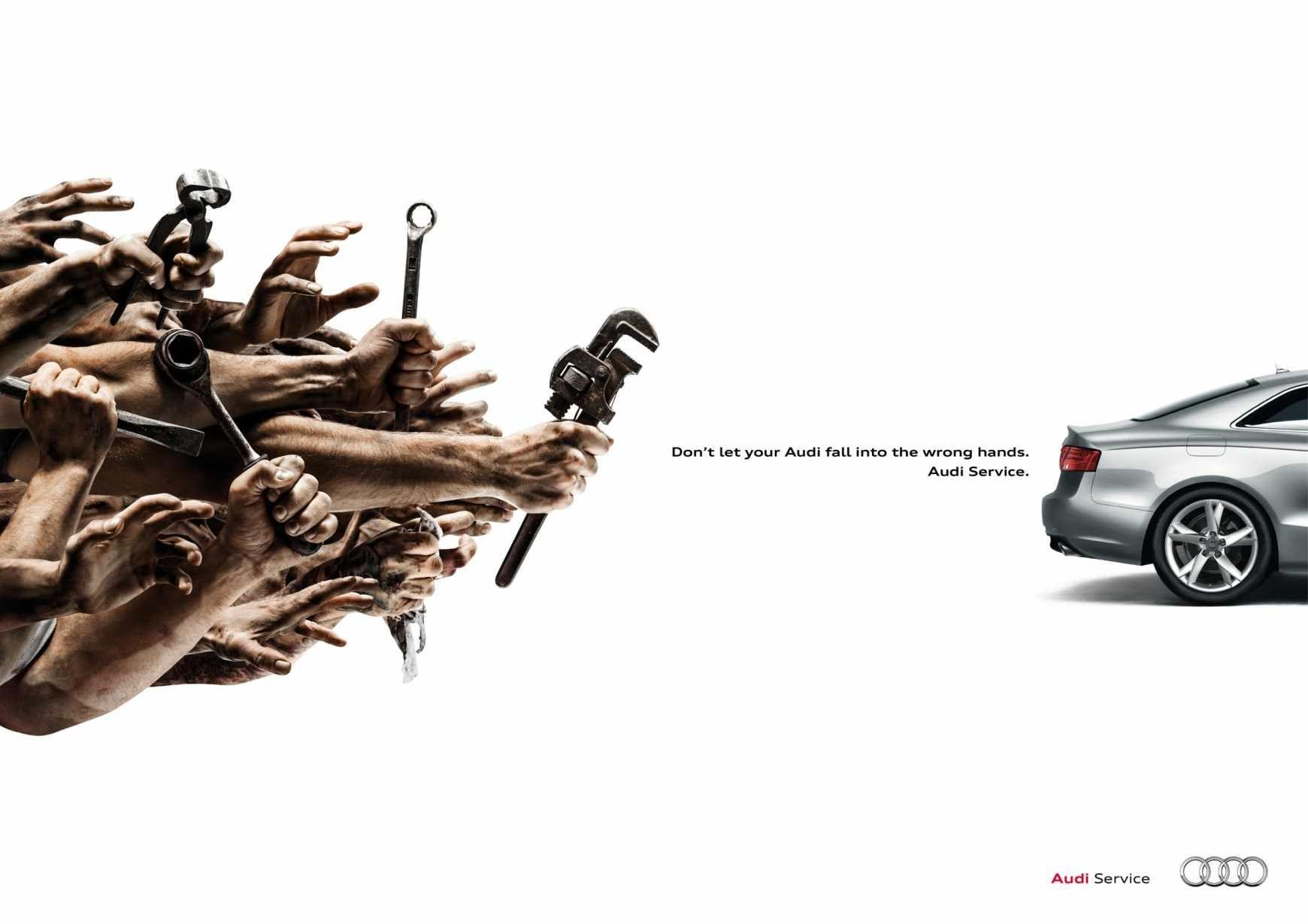 Audi wrench advertising agency thjnk berlin advertisement audi wrench advertising agency thjnk berlin buycottarizona