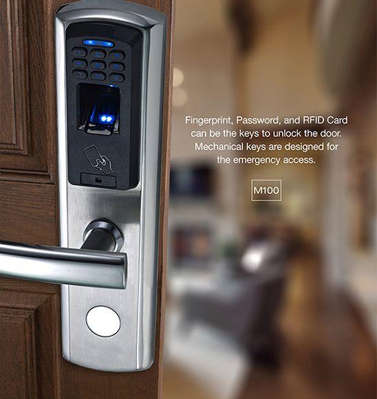 Avent Security M100 Fingerprint Digital Door Lock Door Locks Keyless Door Lock Digital Door Lock