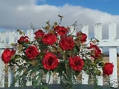 """floral arrangements for headstones"" - Google Search"