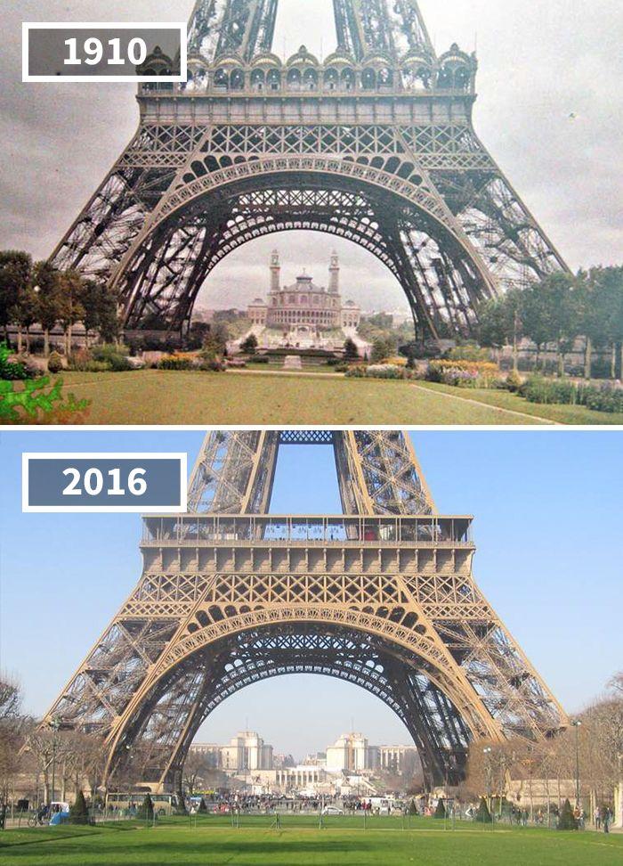 Как изменился мир за 100 лет: фотографии до и после ...
